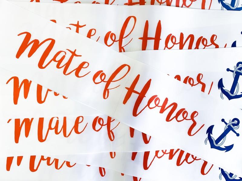 Mate of Honour Sailor theme