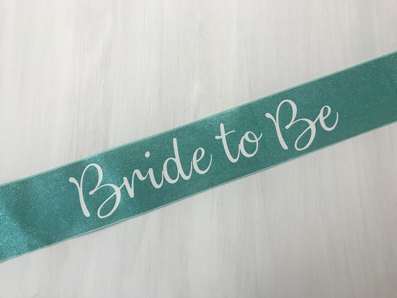 Glitter Canvas - Bride To Be