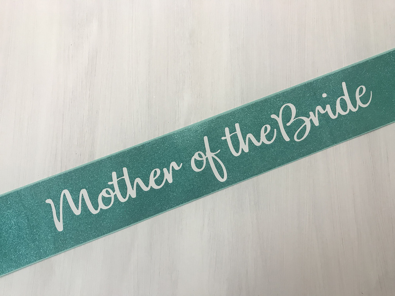 Glitter Canvas - Mother Of The Bride