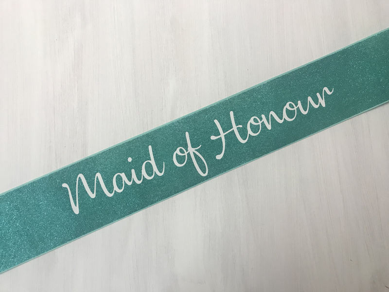 Glitter Canvas - Maid Of Honour