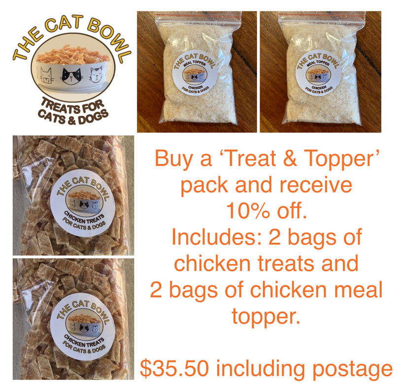 Treats & Topper Pack: Chicken (includes postage)