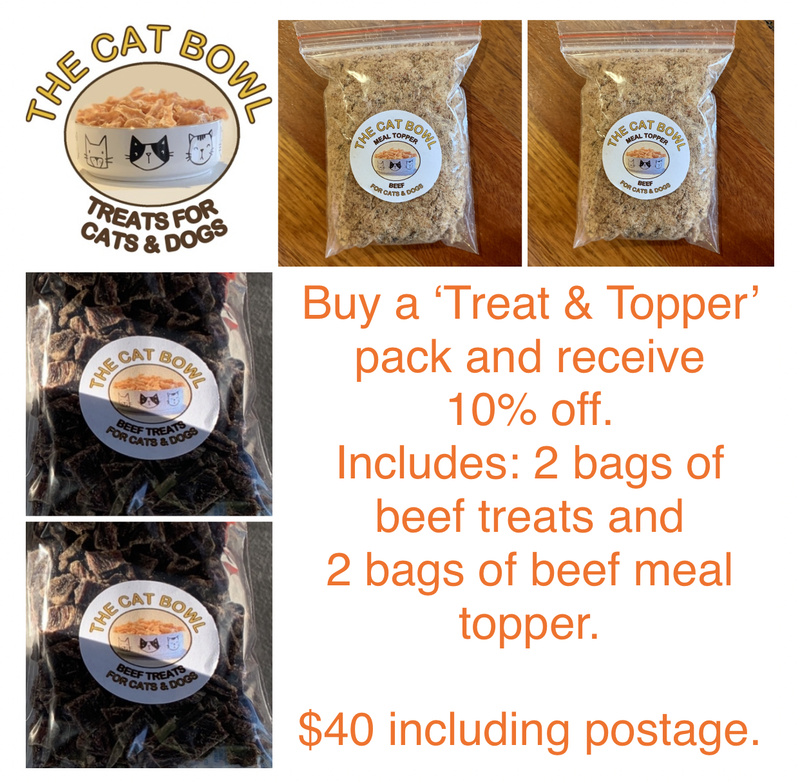 Treat & Meal Topper Pack: Beef (includes postage)