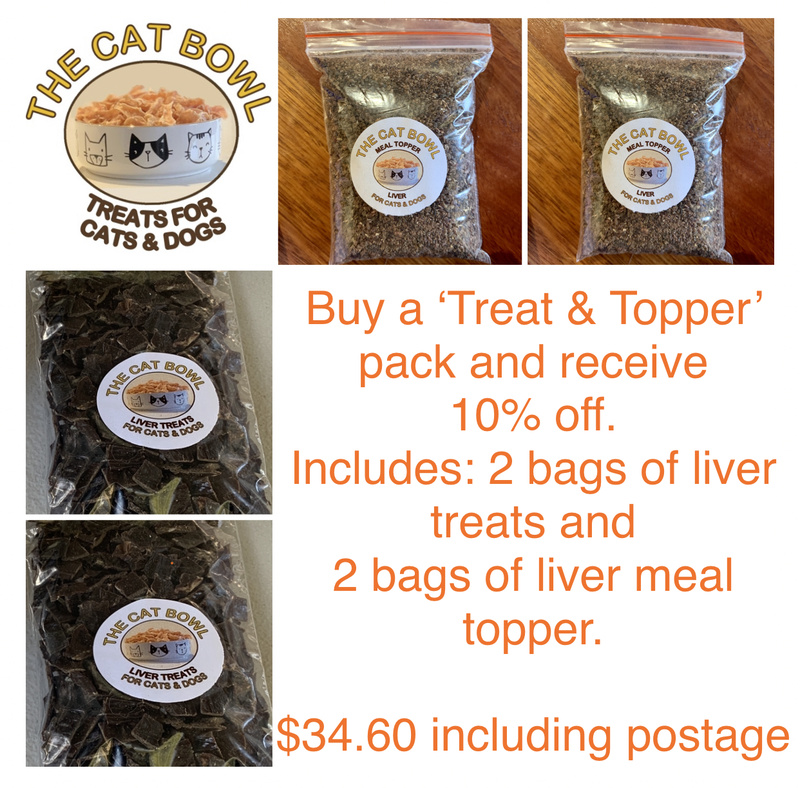 Treats & Topper Pack: Liver (includes postage)
