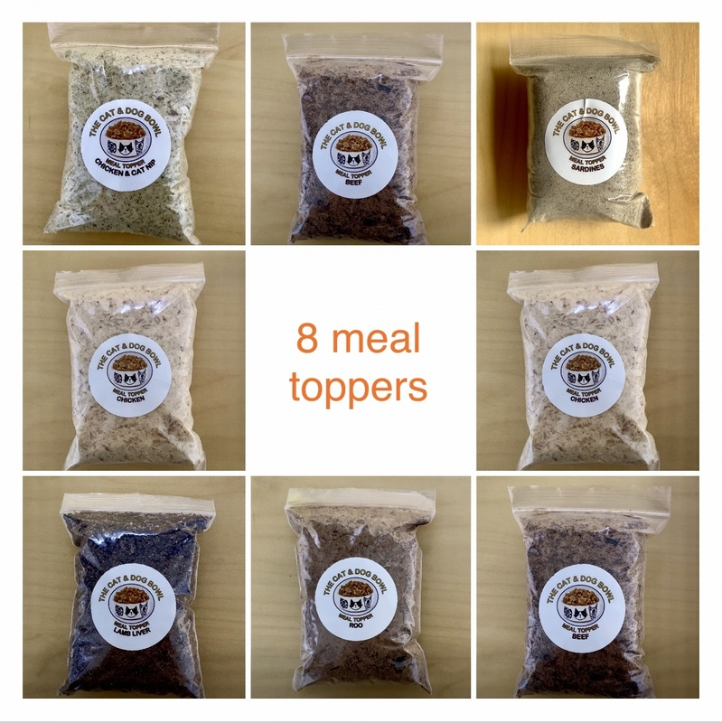 Meal Topper x 8 pack: Save 10% (price includes postage)