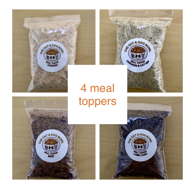 Meal Topper x 4 Pack: save 10% (price includes postage)