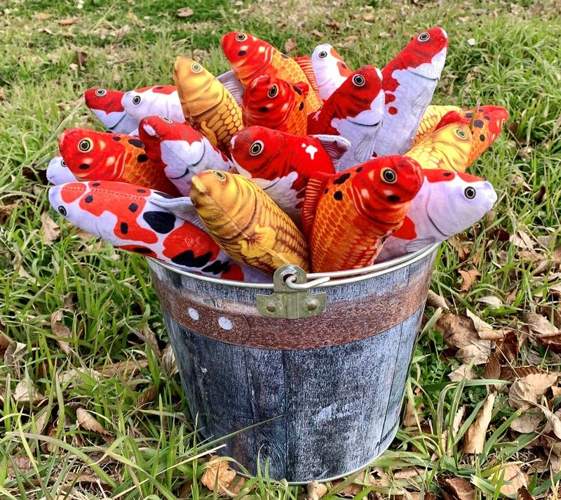 Plush Toy Fish
