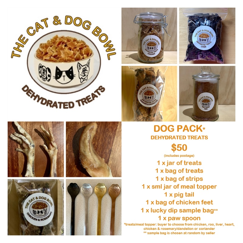 Dog Pack (8 items for $50 incl. postage)