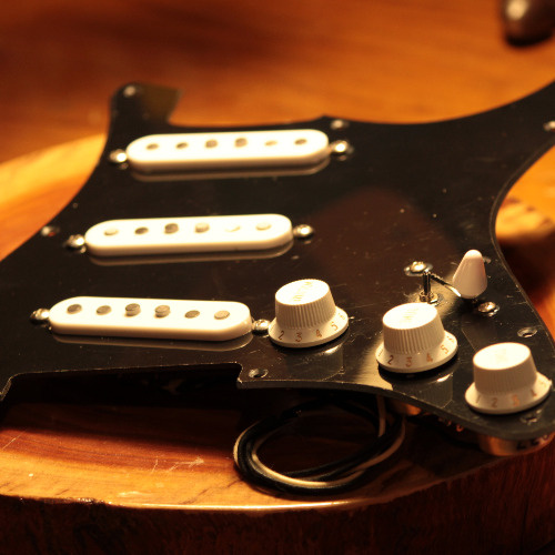 JJ's Guitar Pickups V12 Black Strat David Gilmour Set