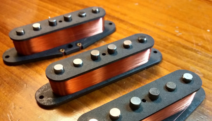 JJ's Guitar Pickups SSS Strat Pickups