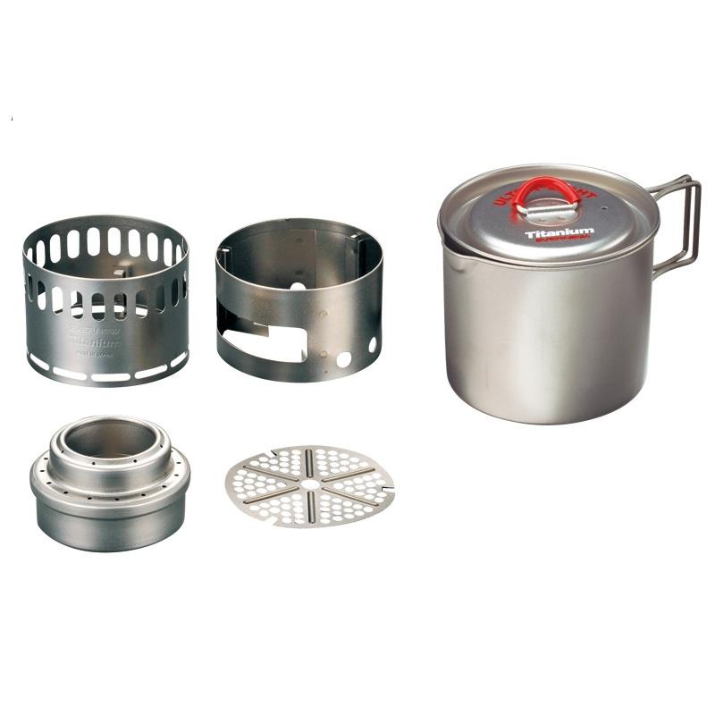 Ti Pot 500 w/Ti Stove - ECA268R - Evernew