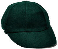 Dark Green Baggy Cap