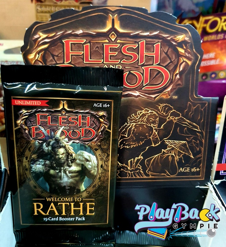 Flesh & Blood Boosters Welcome to Rathe Unlimited