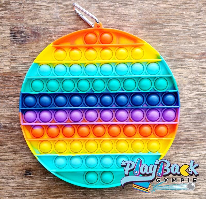 POP It! Rainbow XL Circle