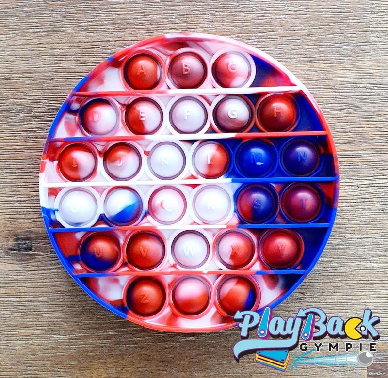 POP It! Tie Dye Round Aussie