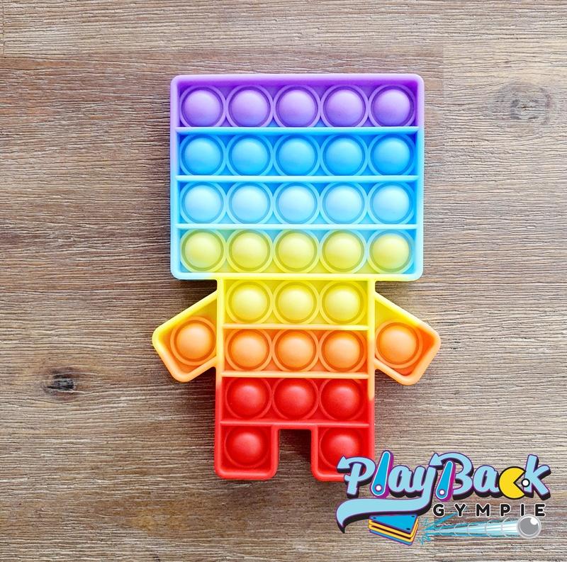 POP It! Rainbow Robot