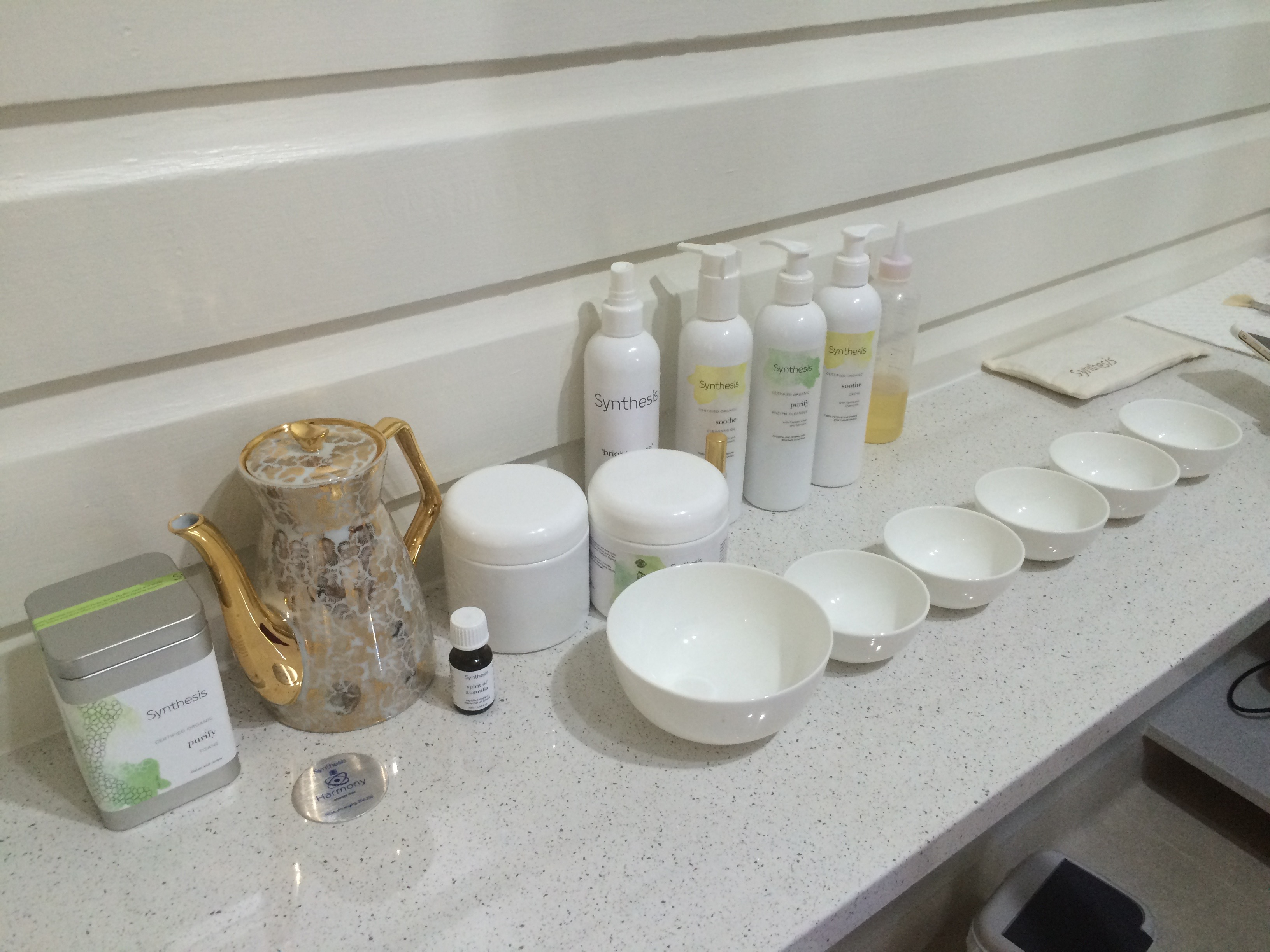 Spa Wellbeing Wellness Tea Skincare Treatment Synthesis Cleanse Soothe