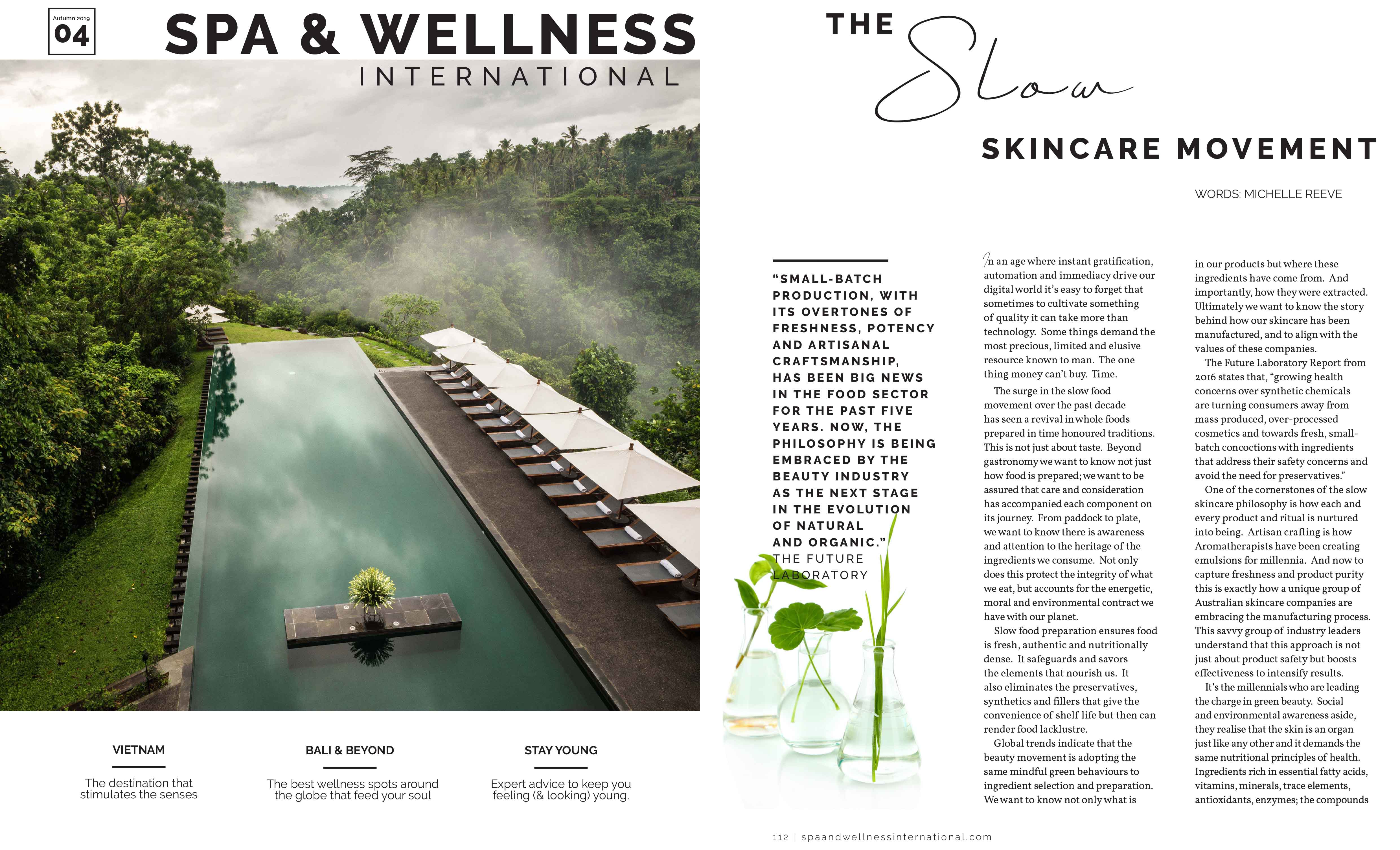 The Slow Skincare Movement