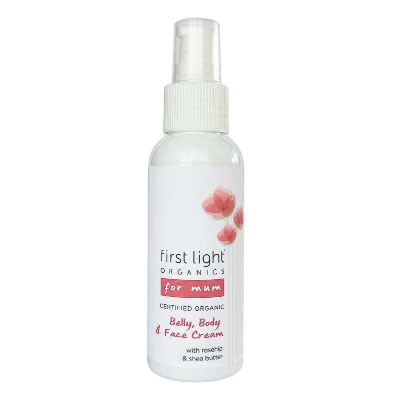 First Light Organic Belly, Body & Face Cream - for Mum