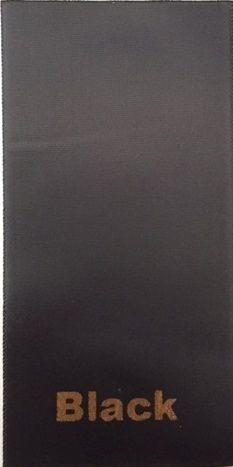 PLAIN BLACK SASH