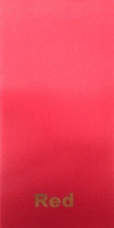 PLAIN RED SASH