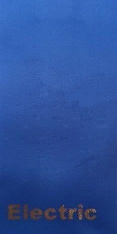 PLAIN ELECTRIC BLUE SASH