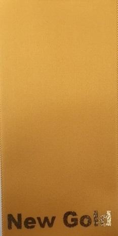 PLAIN NEW GOLD SASH