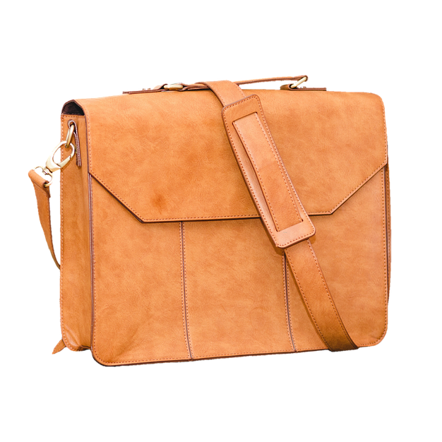 Luxe Leather Satchel