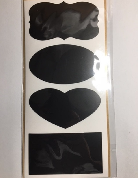 Stickers - Chalk Board Shapes