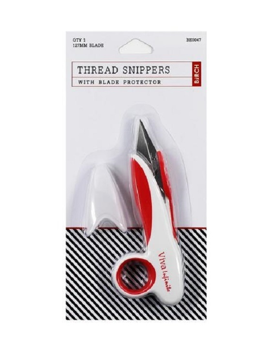Thread Snip / Scissor Snip / Thread Cutters- Red/White