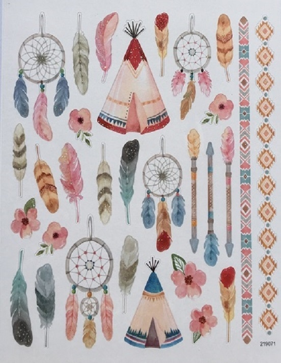 Stickers - Dream Catchers & Feathers