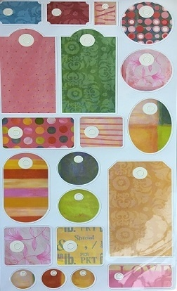Stickers - Craft Luggage Tags