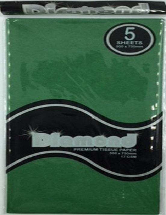 Tissue Paper - Dark Green