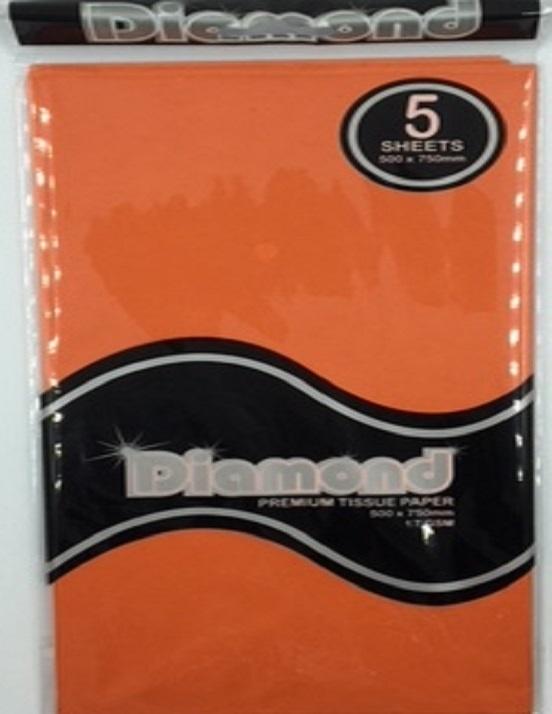 Tissue Paper - Orange