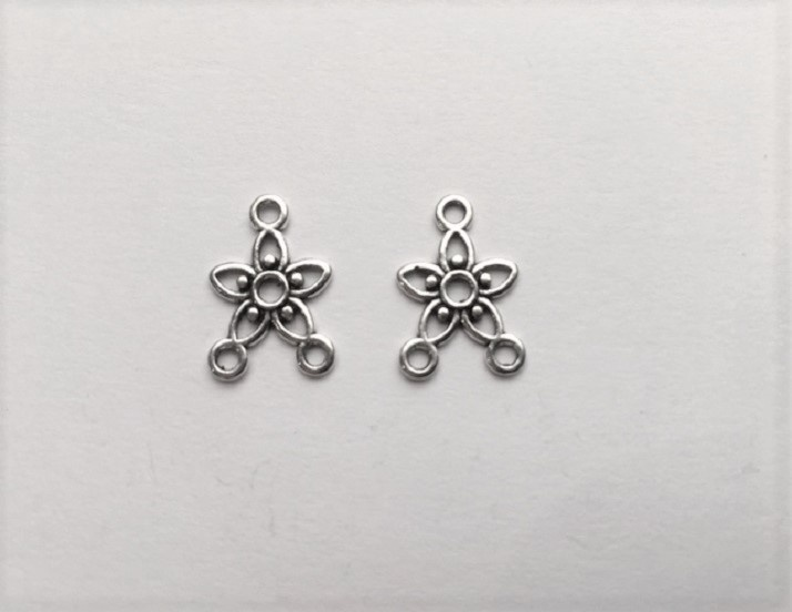 Earring Components - Stars - 2 Pieces