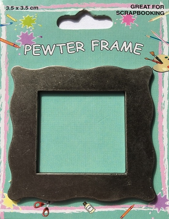 Pewter Frame - Plain