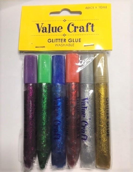 Craft Glitter Glue - Multi Colours