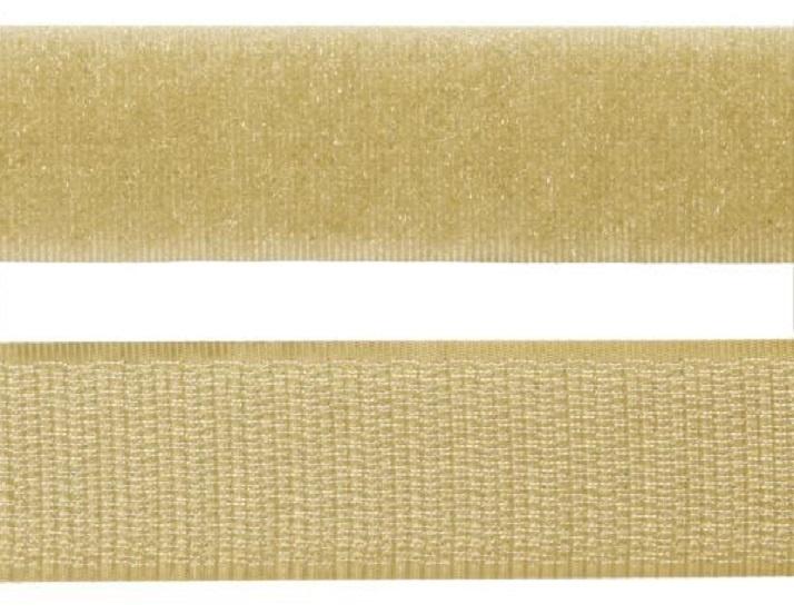 Velcro® Sew-On - 20mm - Length 31cm - Beige