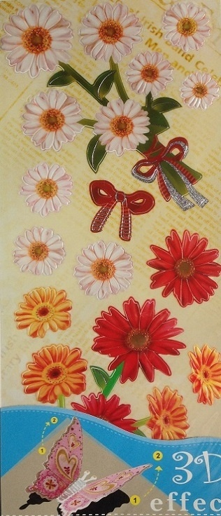 Stickers - 3D Effect - Daisies