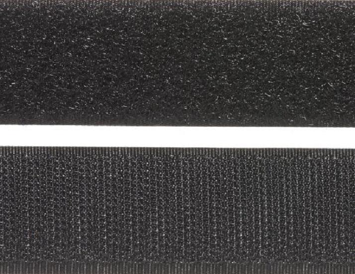 Velcro® Sew On - 25mm - Black.