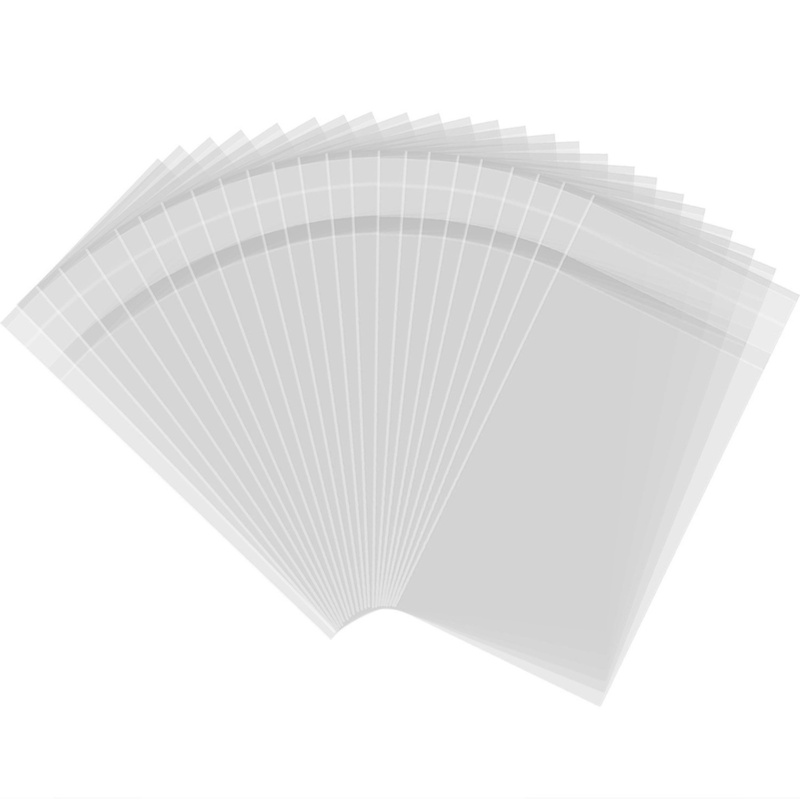 Adhesive Seal Bags - 6 x 10cm - 100 Pieces