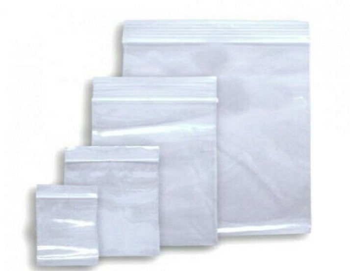 Zip Lock Bags - 5cm x 7cm - 50 Pieces