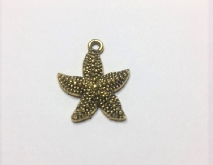 Star Fish - 1 Piece - Gold or Silver