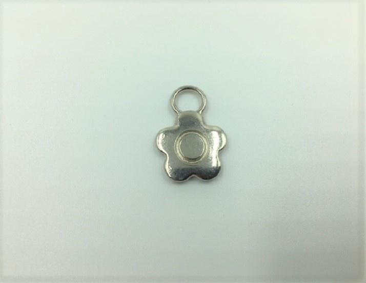 Flower - 1 Piece - Silver