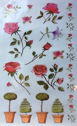 Stickers - Roses Theme