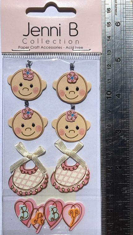 3D Stickers - Babies & Bibs