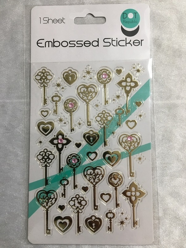 Stickers - Embossed - Keys