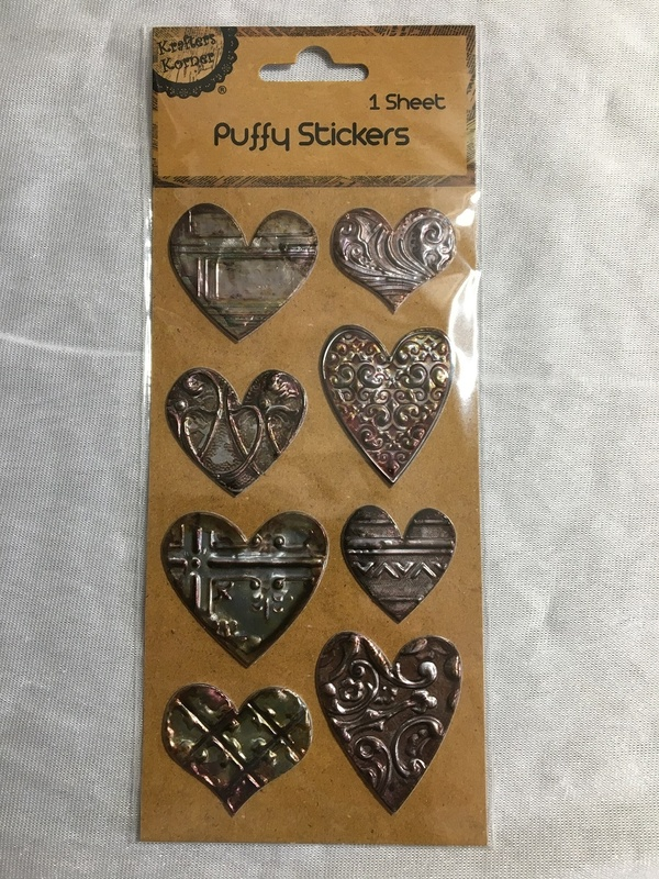 Stickers - Puffy - Hearts