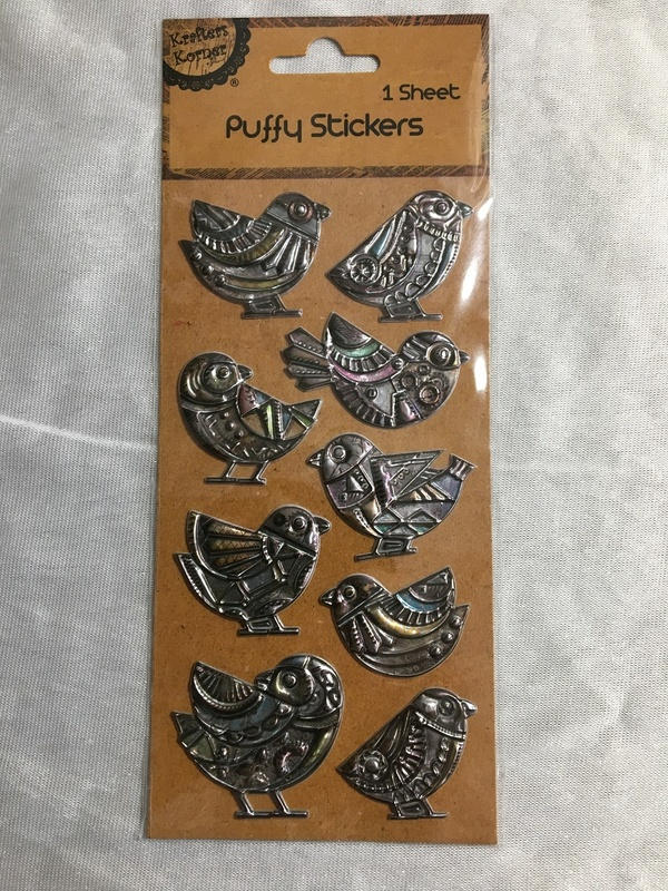 Stickers - Puffy - Chicks
