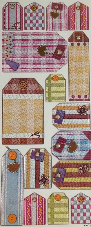 Stickers - Luggage Tags