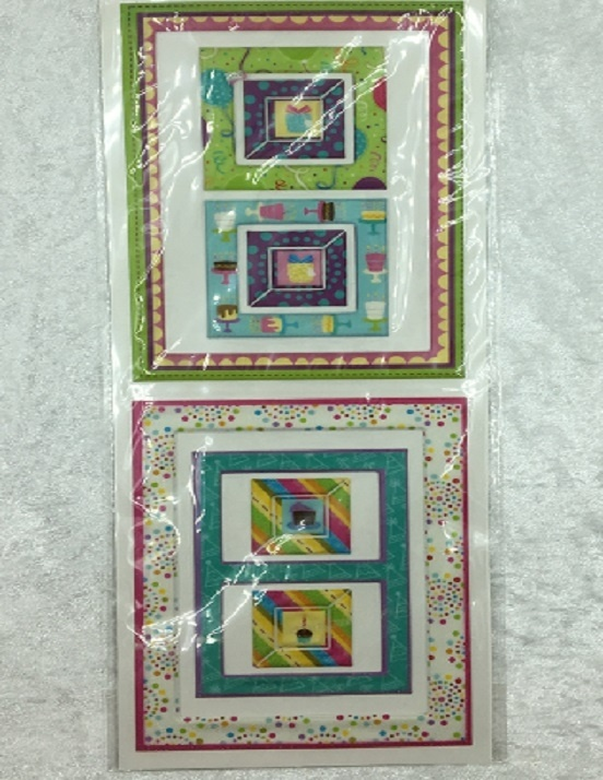 Stickers - Colourful Puffy Glitter Frames & Borders - 14 Pieces